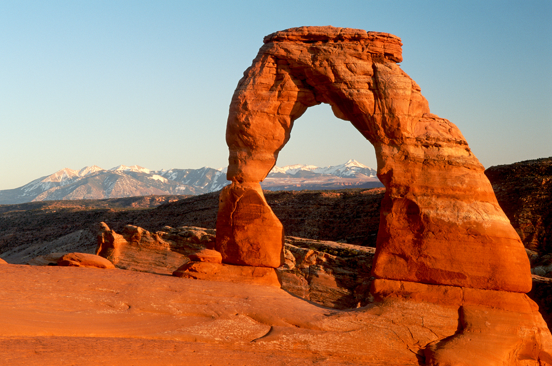 Delicate Arch in Arches National Park, near Moab Utah